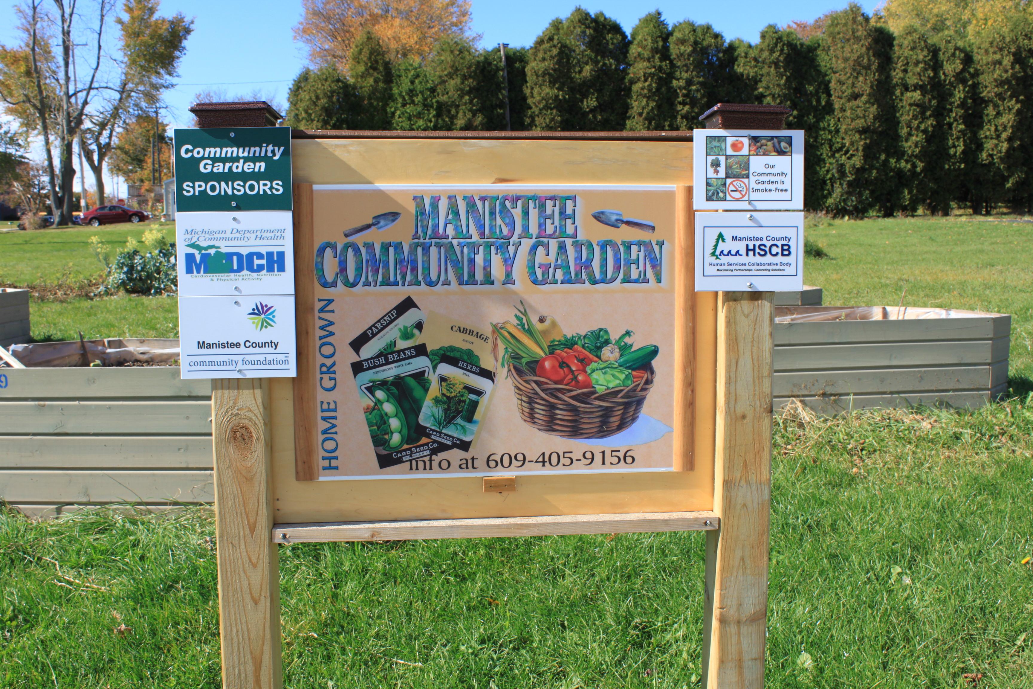 Community Gardens Manistee Community Kitchen